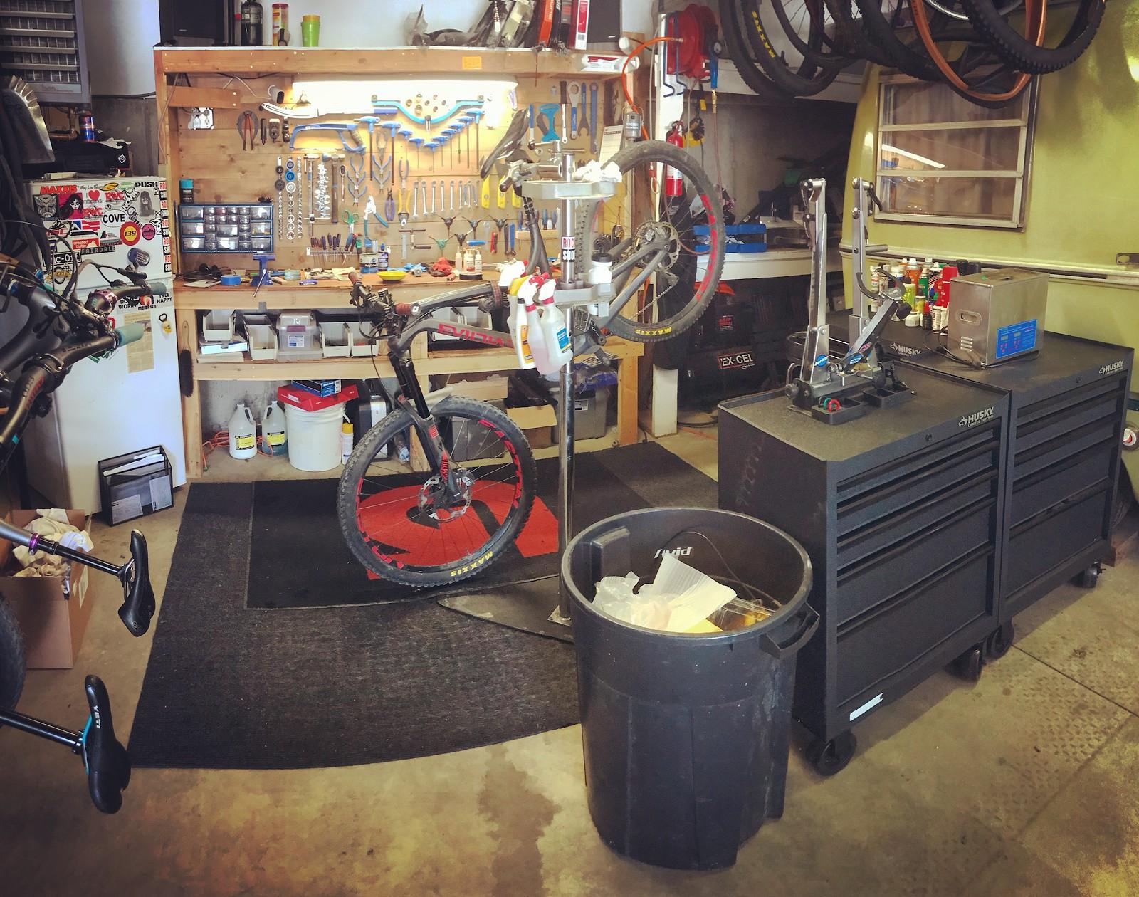 Show Us Your Workshop - The Hub - Mountain Biking Forums