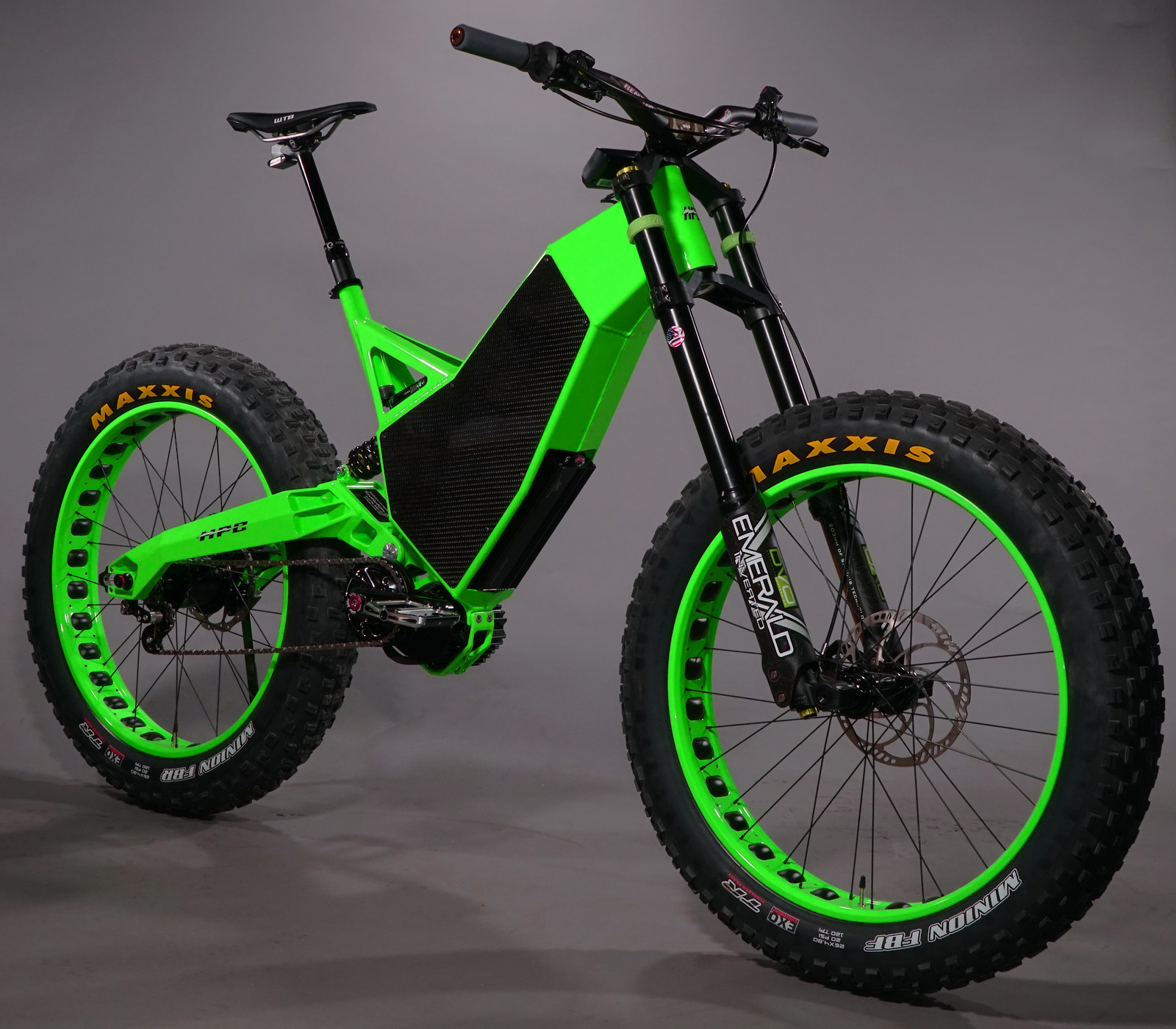 Would You Ride This 13 000 Downhill Fat E Bike The Hub