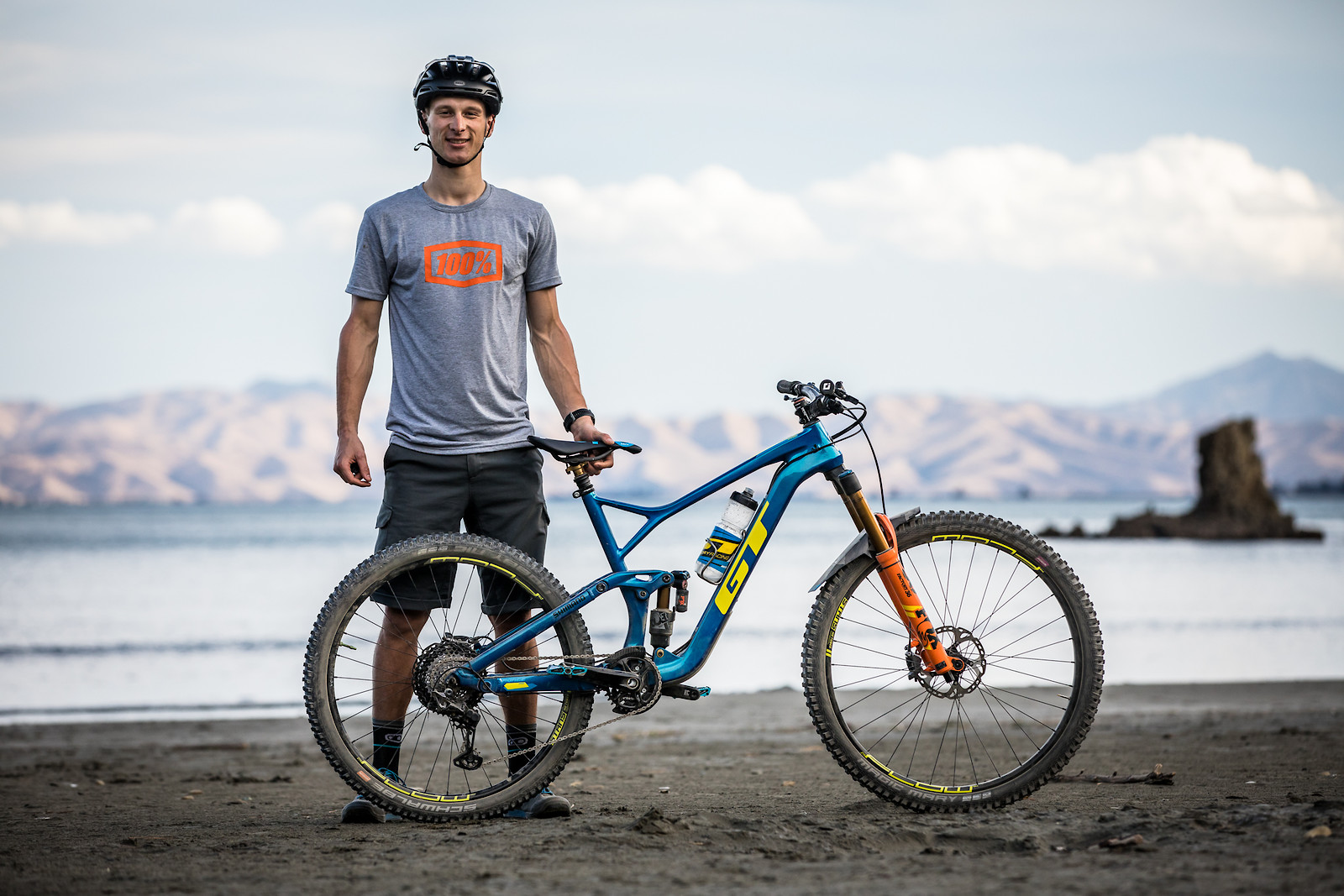 Martin with his GT Force at the NZ Enduro two weeks ago. Stay tuned for an interview with Martin about his set-up dropping tomorrow.