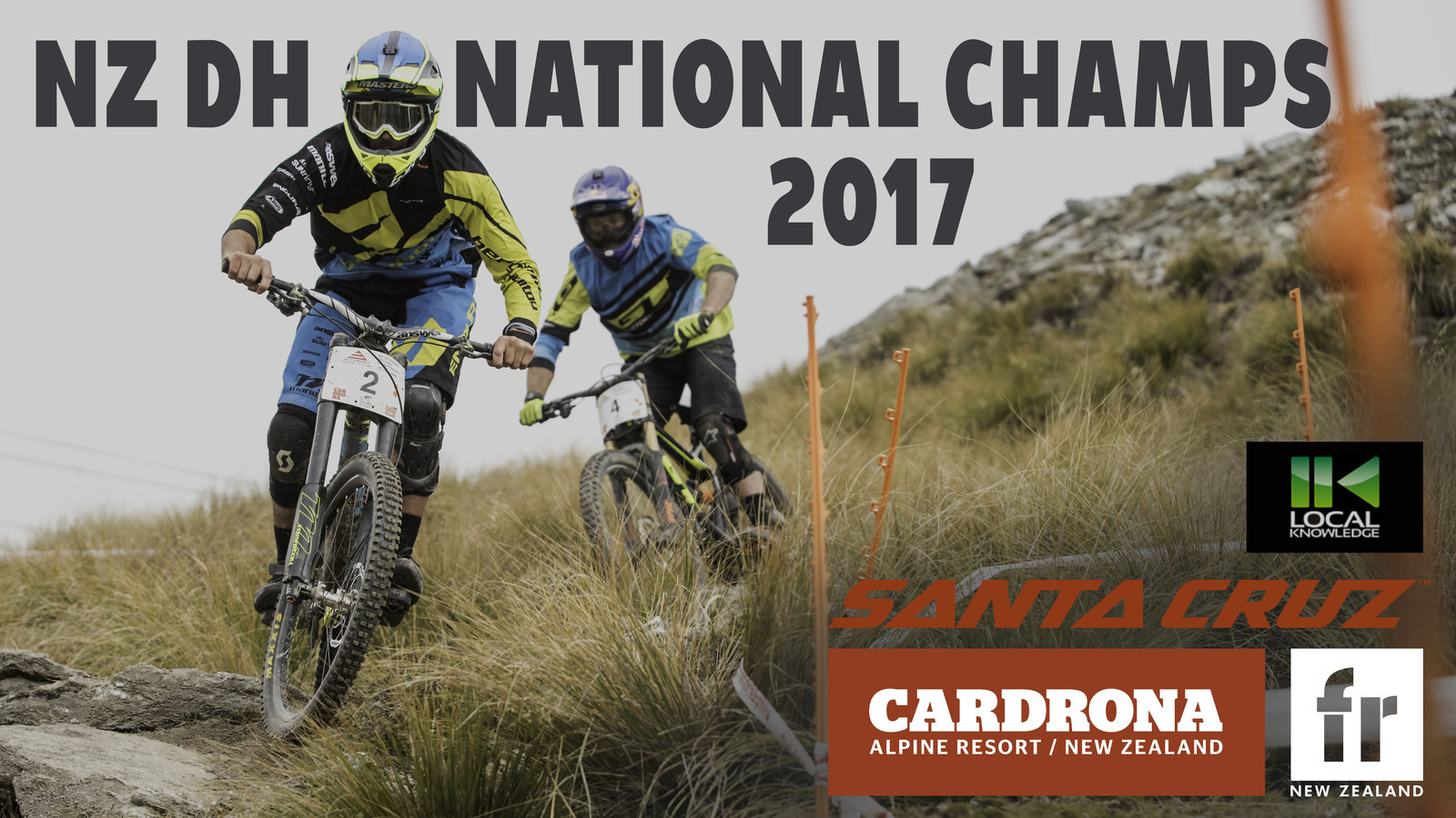 NZ DH National Champs 2017 - Cardrona