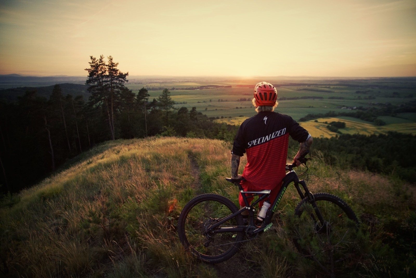 Riding epic trails of Mount Sleza