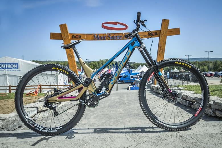 Sam Blenkinsop's Norco Aurum HSP Tribute World Champs Bike