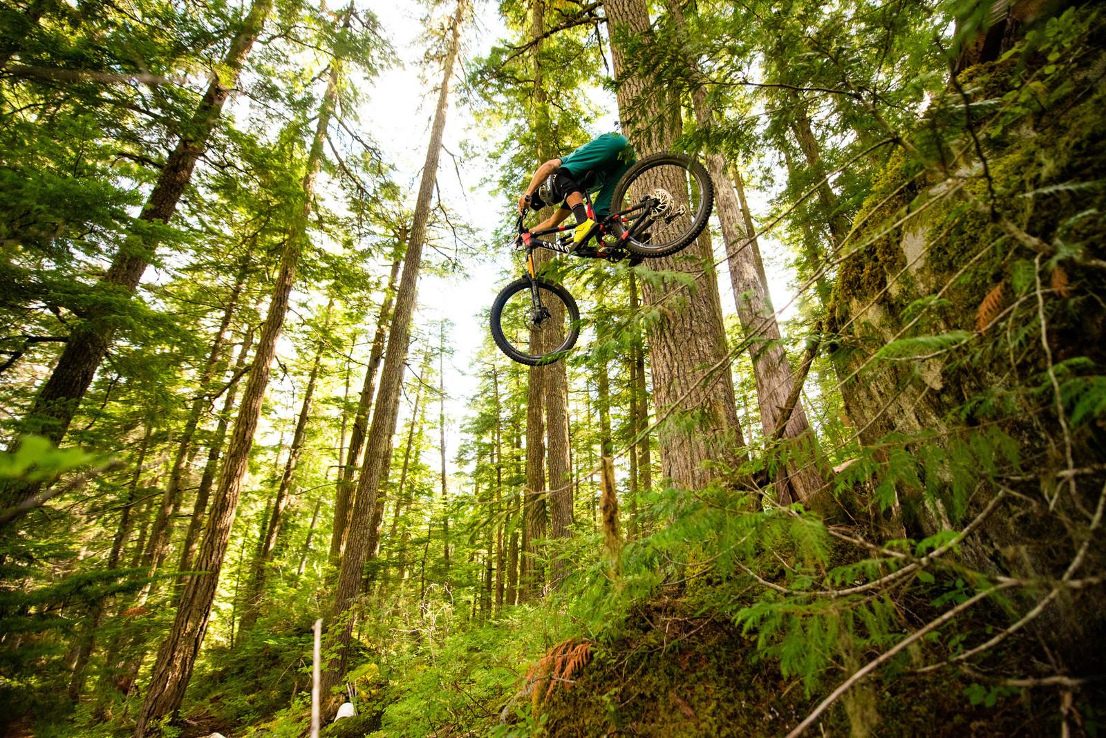 KC Deane chases Whistler dream trails. | #IRIDEENVE