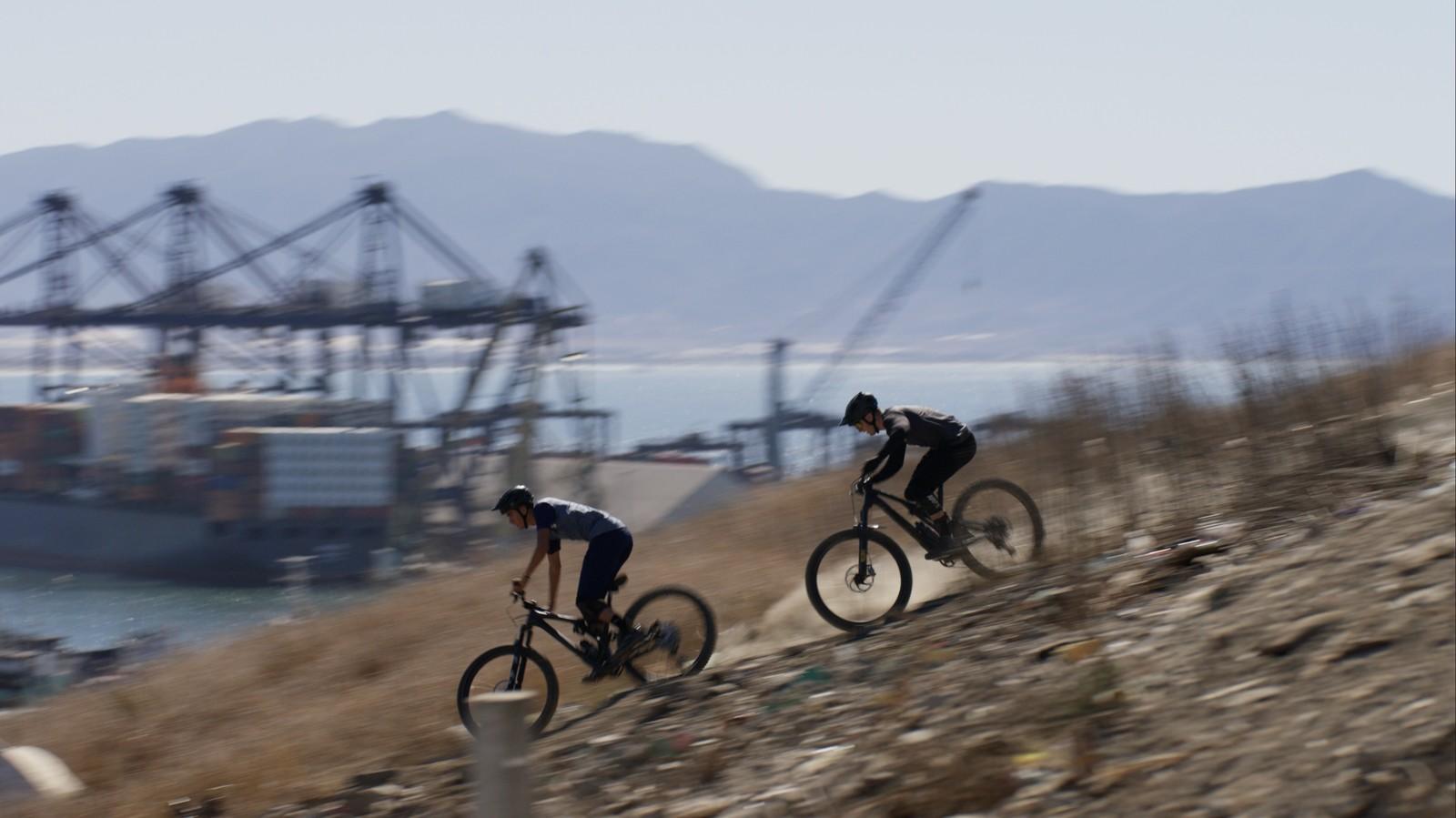 Urban Mountain Bike Riding in Ensenada, Mexico