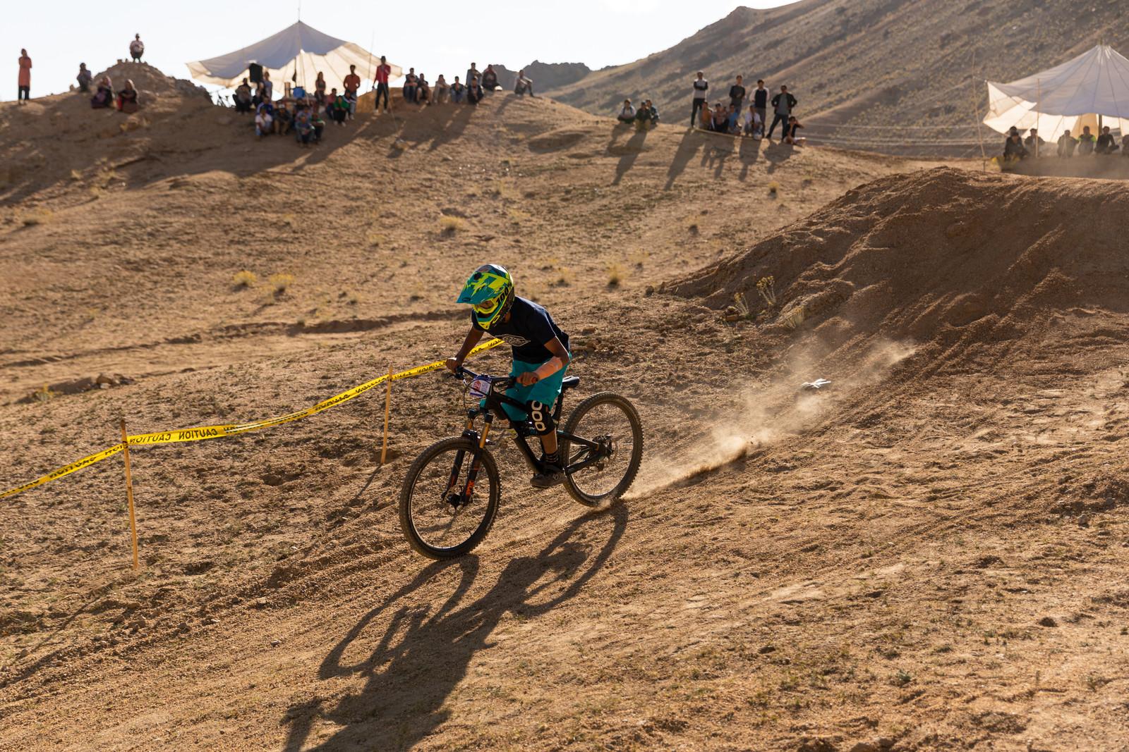 Mountain biking in Ladakh.