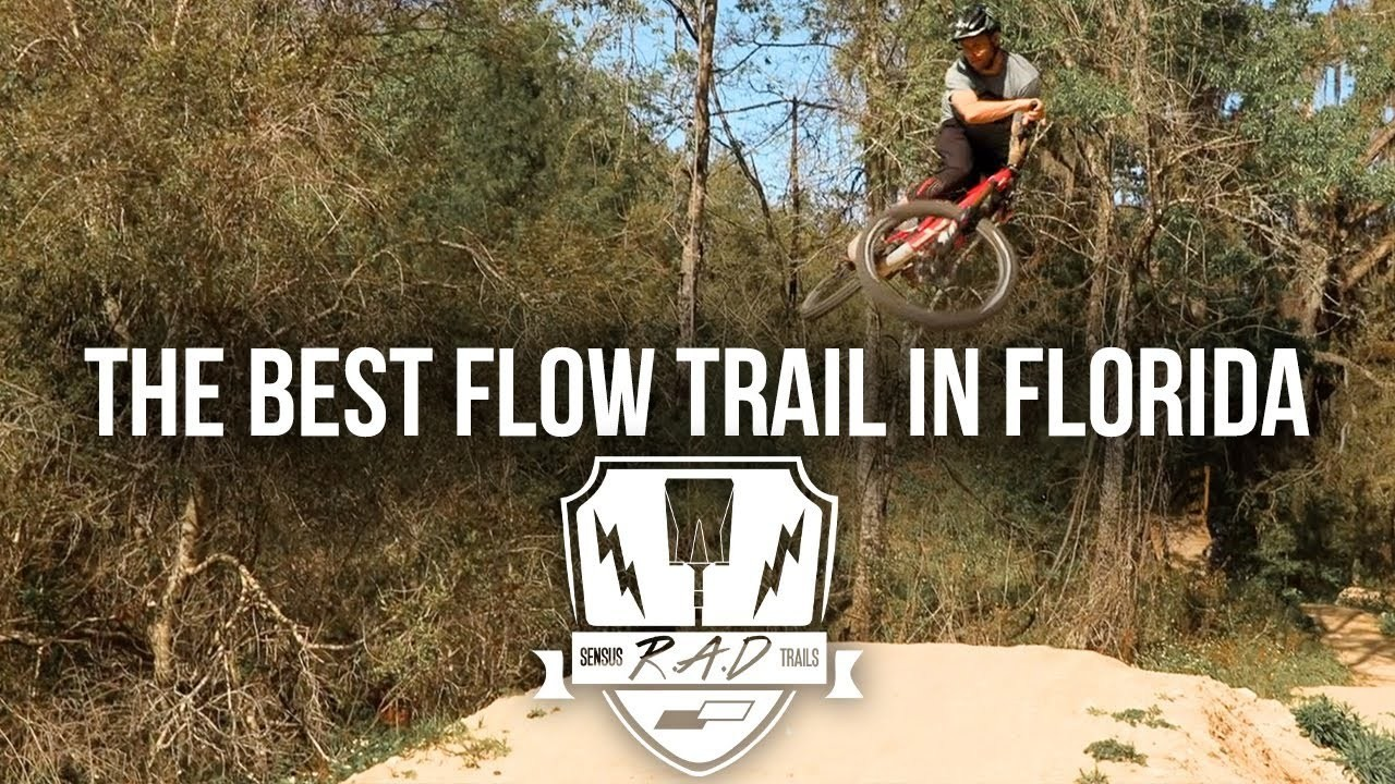 Cam Zink and Sensus RAD Trails Opens Florida Flow Trail