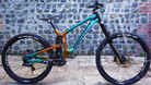 Bike Check – George Brannigan's Custom Painted Propain Rage