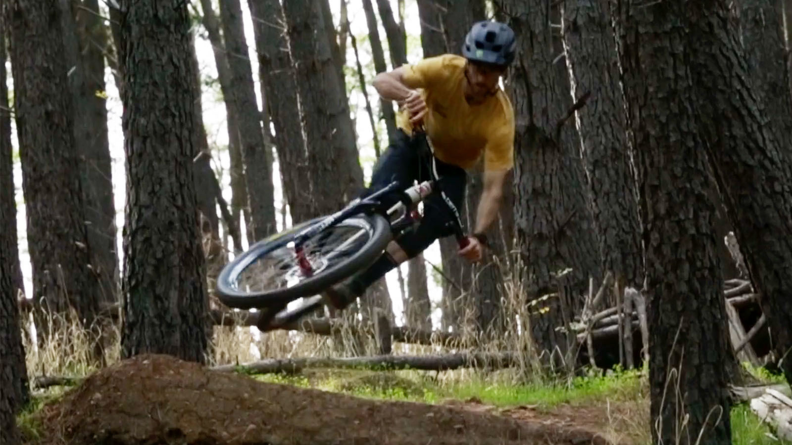 The Hard Way - Connor Fearon Gets Rowdy on His Hardtail