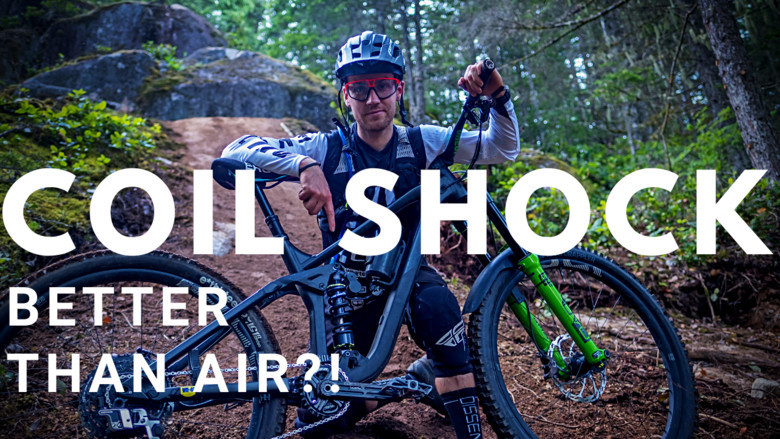 Coil Shock or Air Shock? I Tested Both!