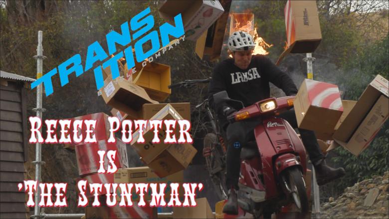 "Reece Potter is ""The Stuntman"""