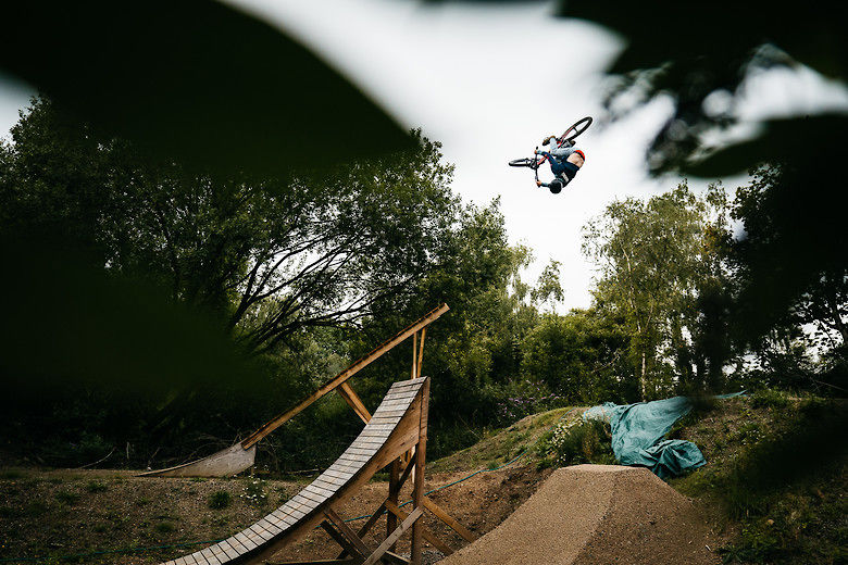 Tom Isted Shreds His Dirt Jump Dreamland