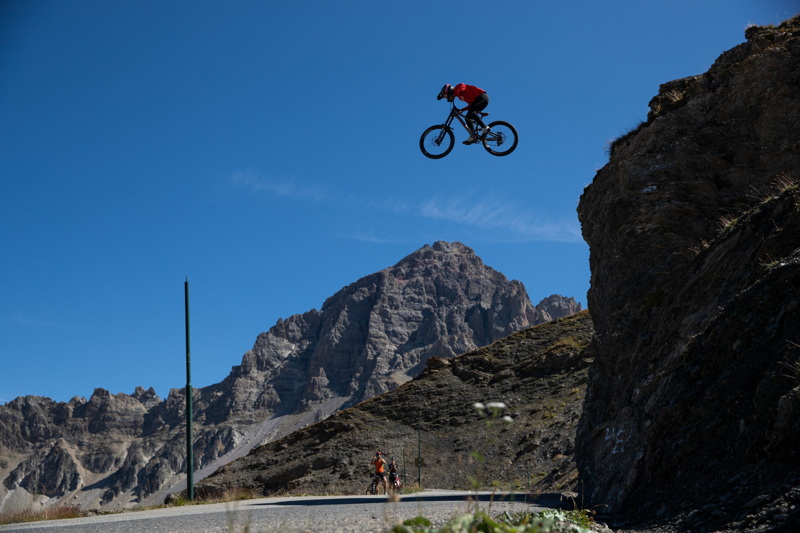 Rowdy Freeride Lines and Big Hucks, Including One Infamous Road Gap