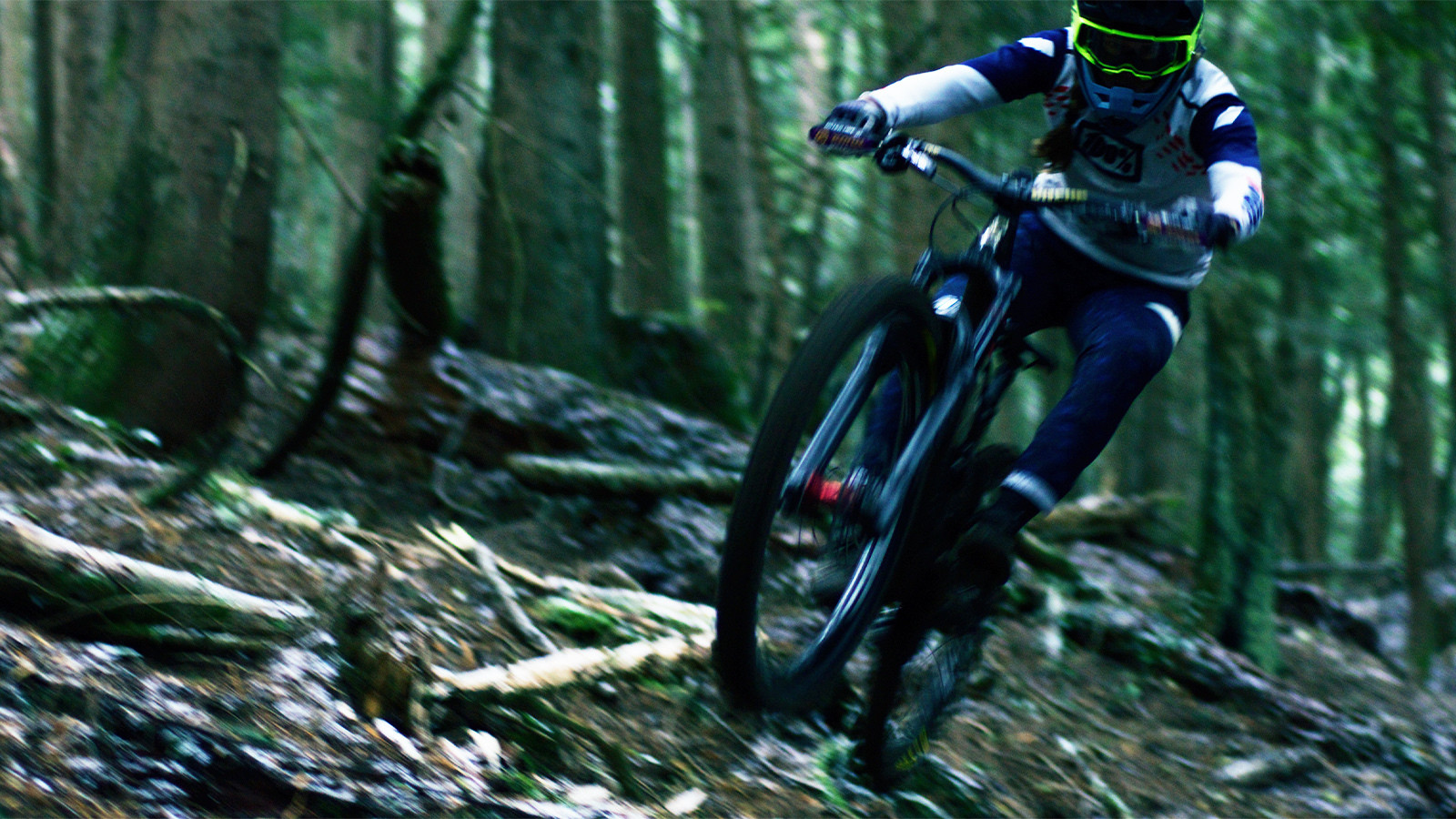 There's No Sound Quite Like it - Miranda Miller Rips a Cold, Damp Cypress Mt