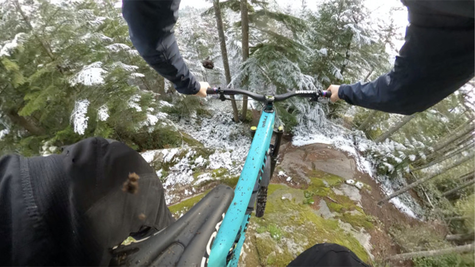 Slabs in the Snow - Remy Metailler is Way Too Excited to Ride His New Bike