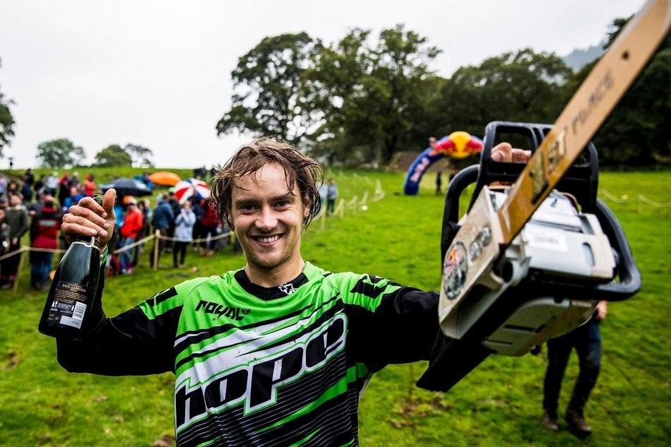 Craig Evans Wins Red Bull Hardline