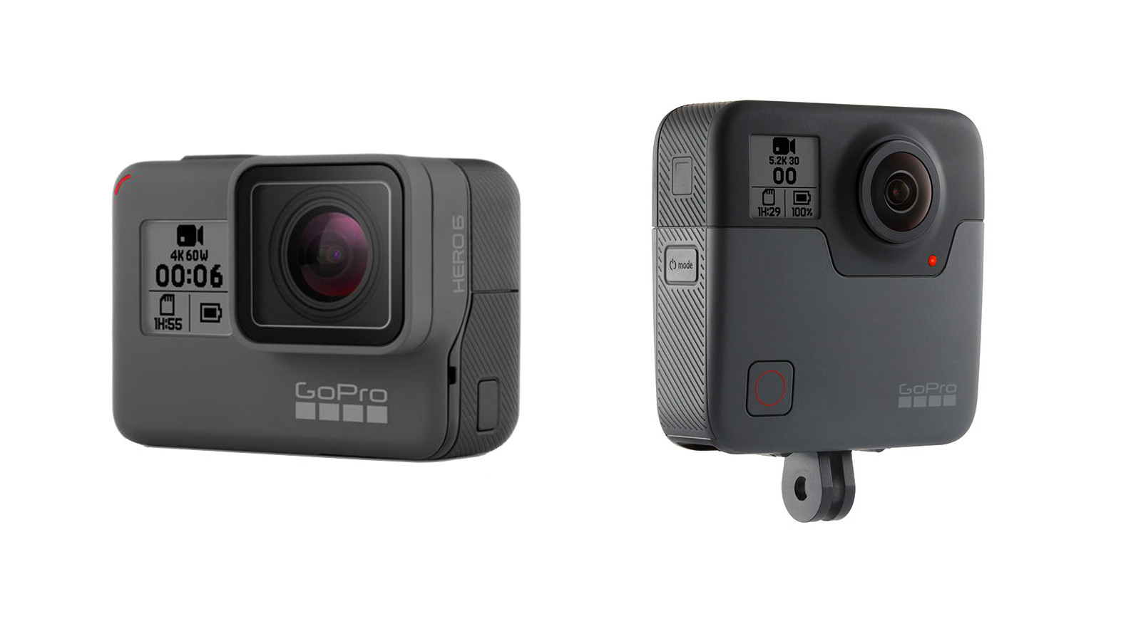 GoPro Launches New HERO6 and Fusion Cameras