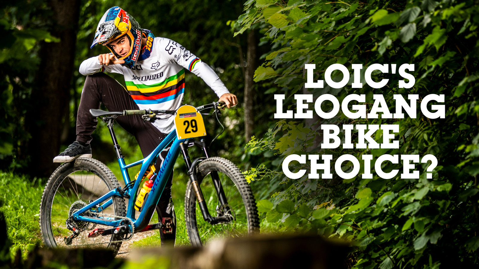 Loic Bruni's Leogang Bike Choice?