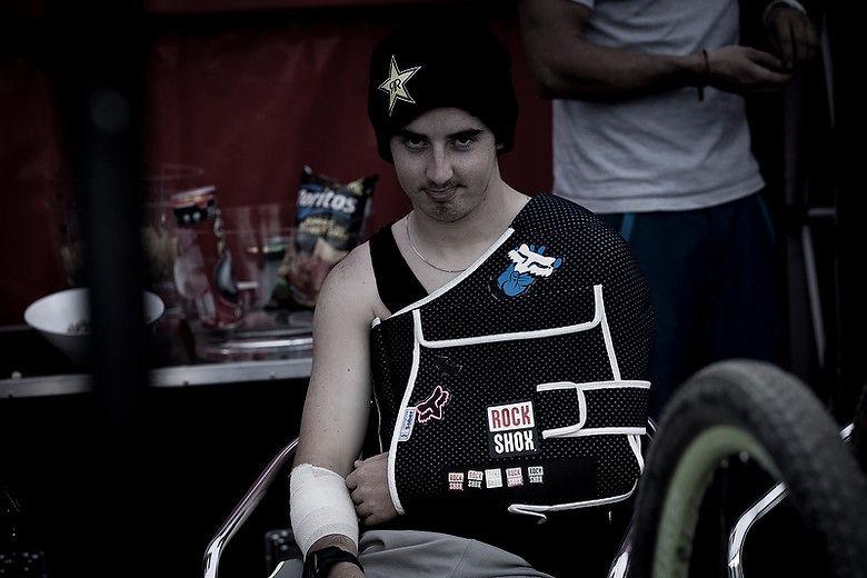 Drag Racing Helmets >> Danny Hart Won't Race 2012 World Championships - Mountain Bikes News Stories - Vital MTB