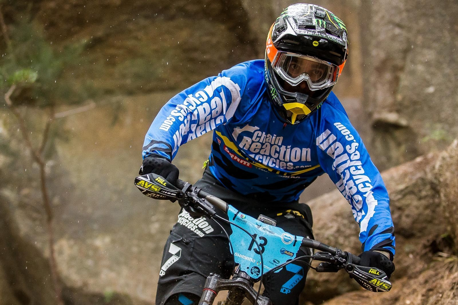 The Legend Delivers in Tasmania – Sam Hill Third at the EWS