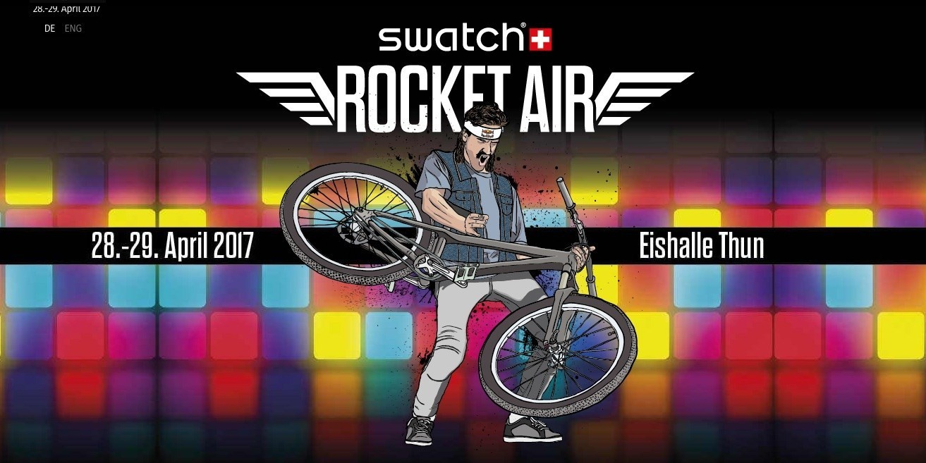 Swatch Rocket Air 2017 is ready to rock