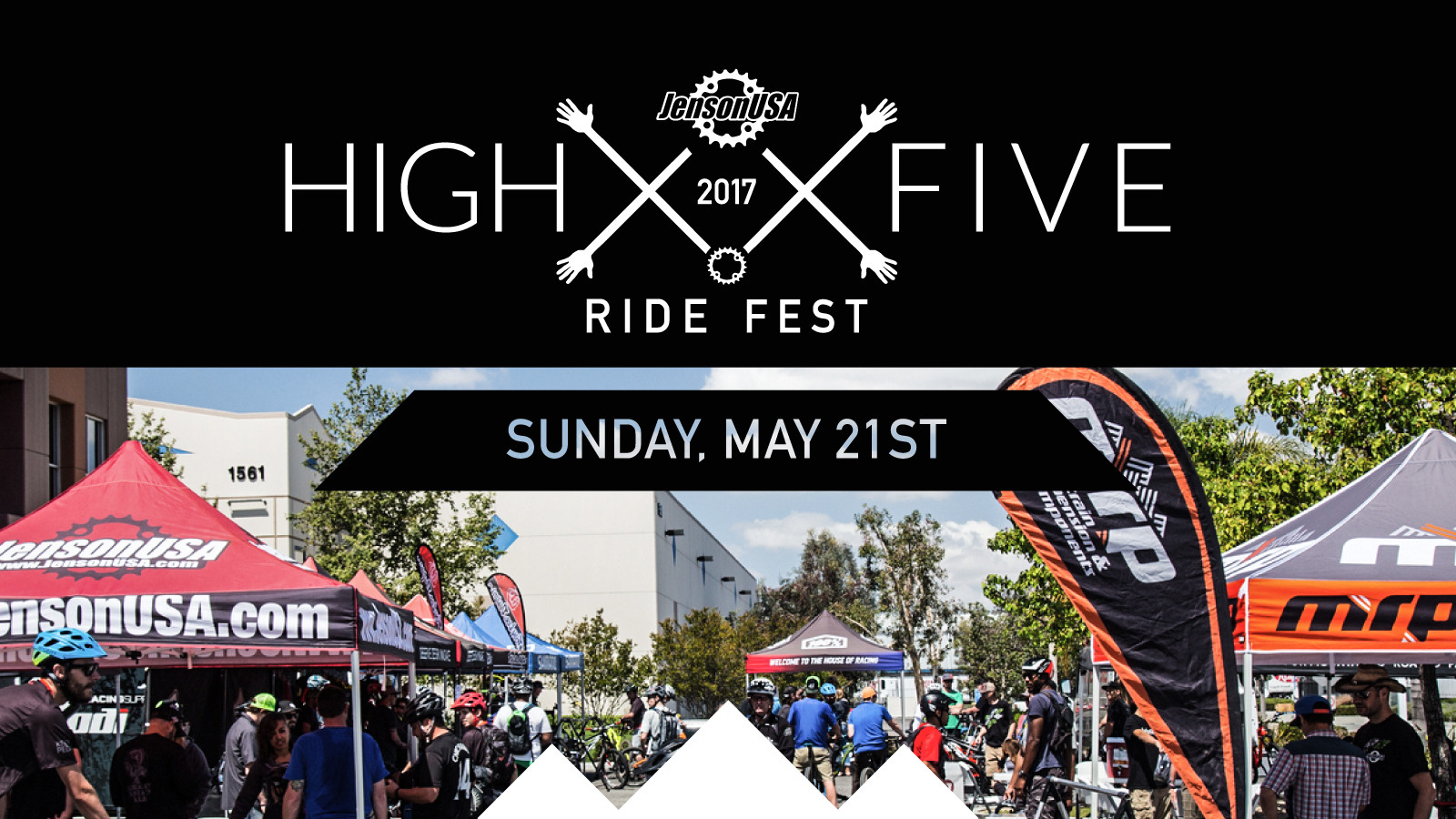"""JENSON USA's 2nd ANNUAL """"HIGH-FIVE RIDE FEST"""""""