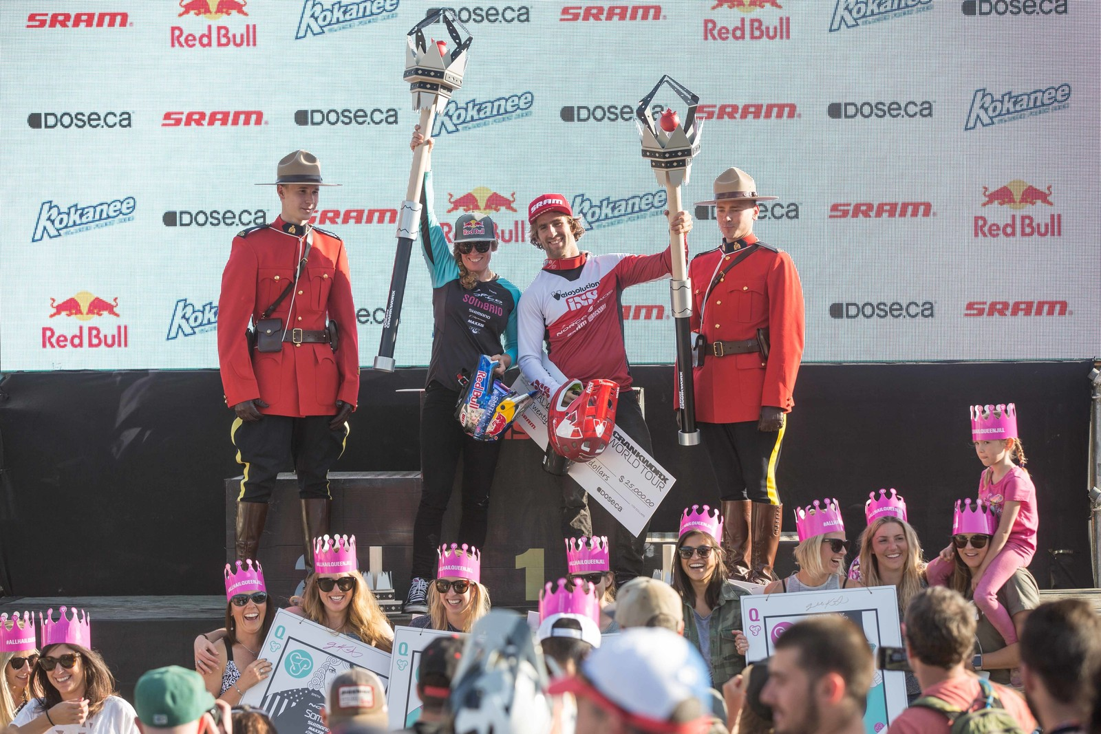 King and Queen of Crankworx Re-sign with Norco Bicycles