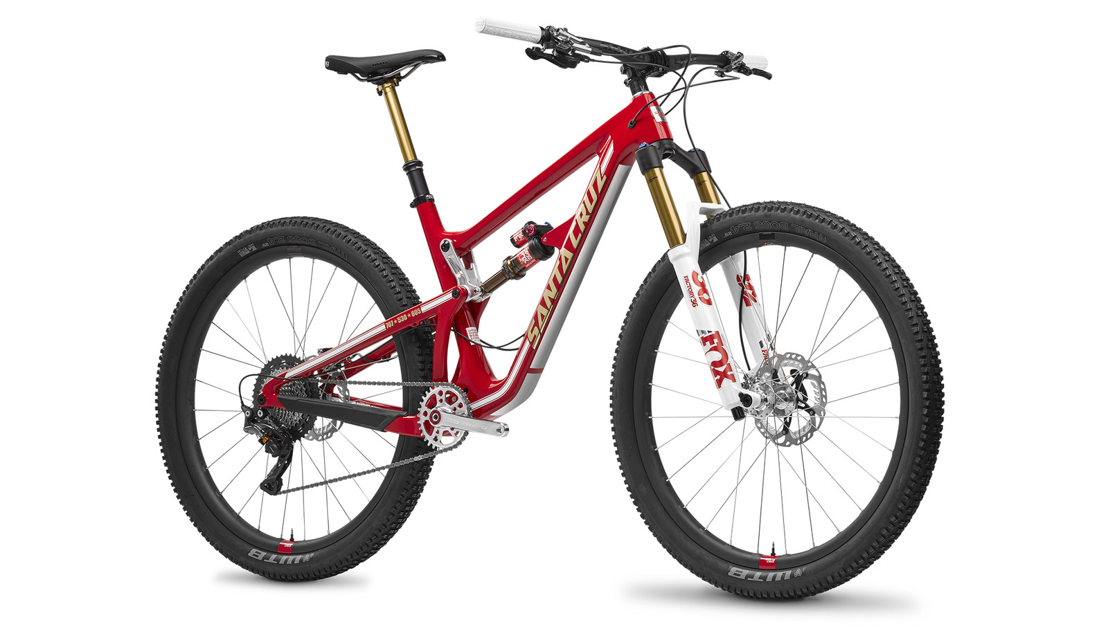 Back On Trail - Support Wildfire Trail Reconstruction Through Raffle for Custom Santa Cruz Bikes
