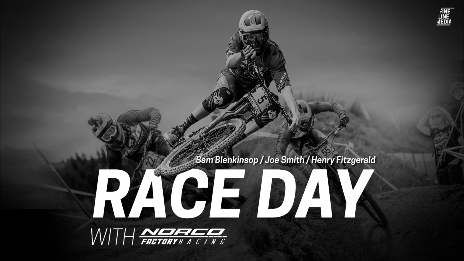 Race day with Sam Blenkinsop, Joe Smith and Henry Fitzgerald