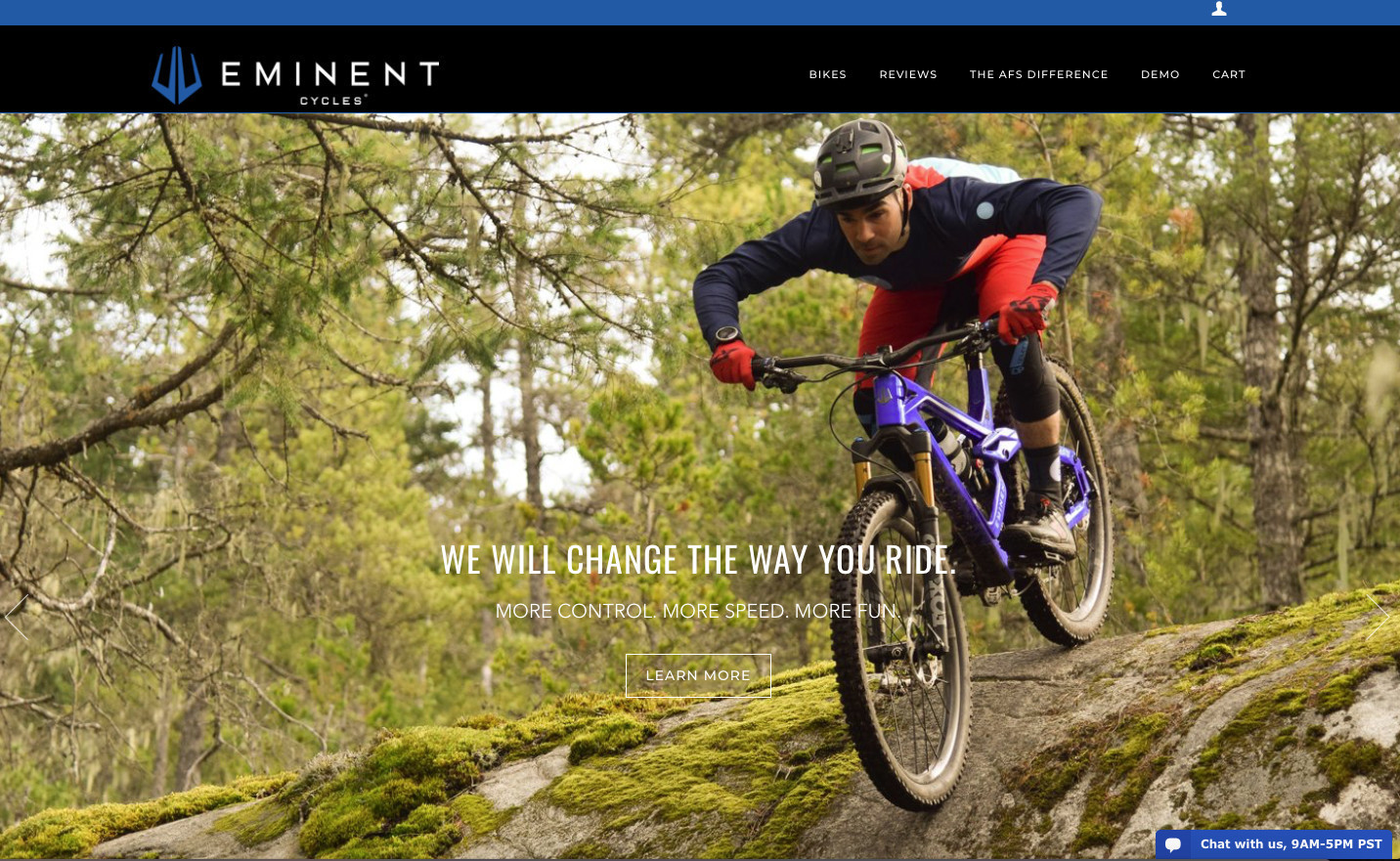 Eminent Cycles Launches New Website and Haste Enduro Builds