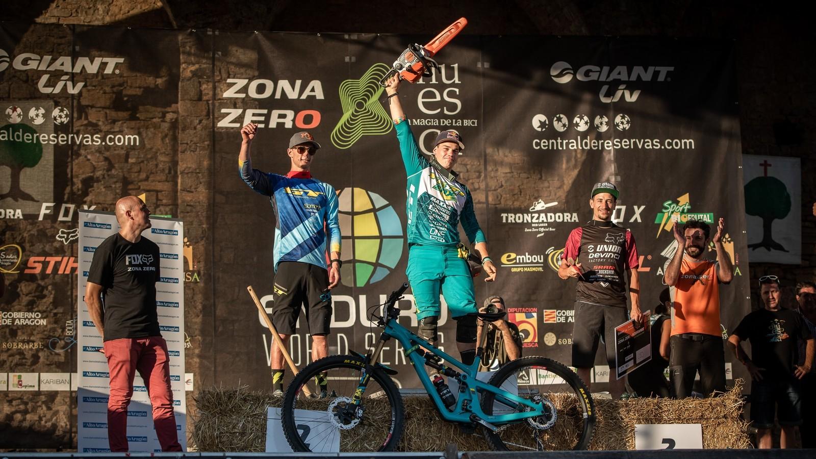 CushCore riders Richie Rude and Martin Maes go 1-2 in Ainsa!