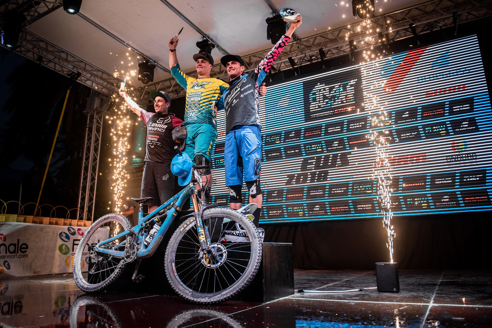 EWS RD 8 - CushCore Riders: Richie makes history, Amour and Newell secure championships!