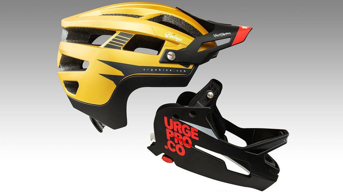 Urge Introduces the Gringo Matic Modular Full Face Helmet