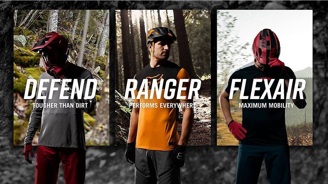 Fox Racing Youth Ranger Long Sleeve L//S Jersey Red//Black