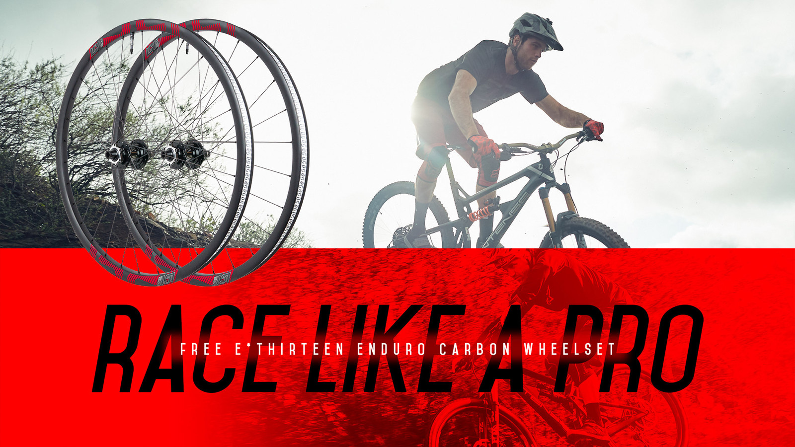 Free Race Day Carbon Wheelset from Intense