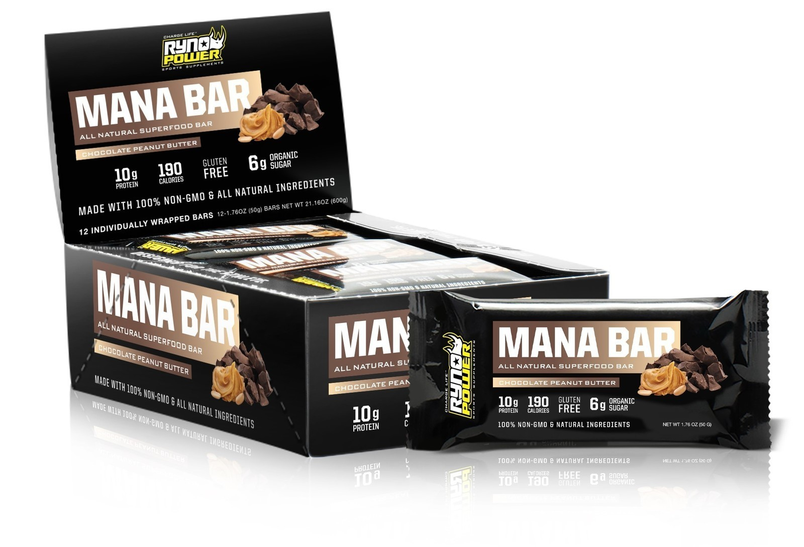 The MANA Superfood Protein Bar is Now Available from Ryno Power