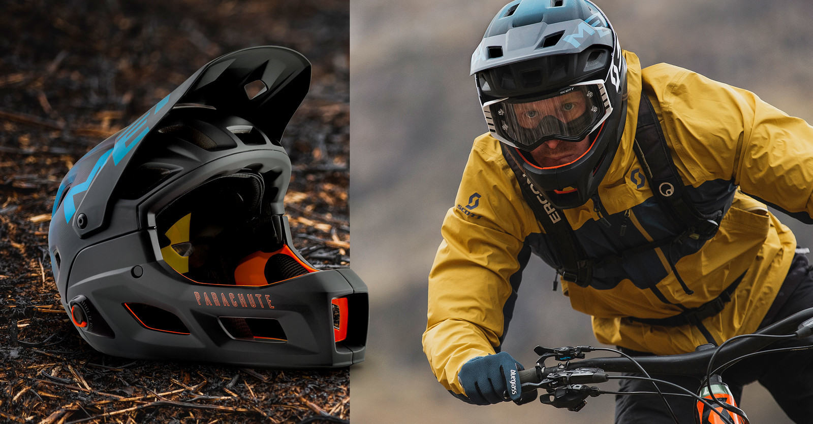 MET Launches the All-New Parachute MCR Convertible Full Face Helmet