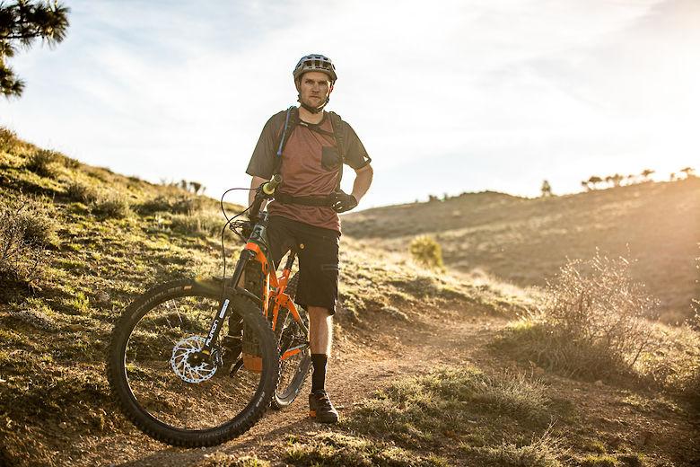 Paul Basagoitia Riding for SR SUNTOUR