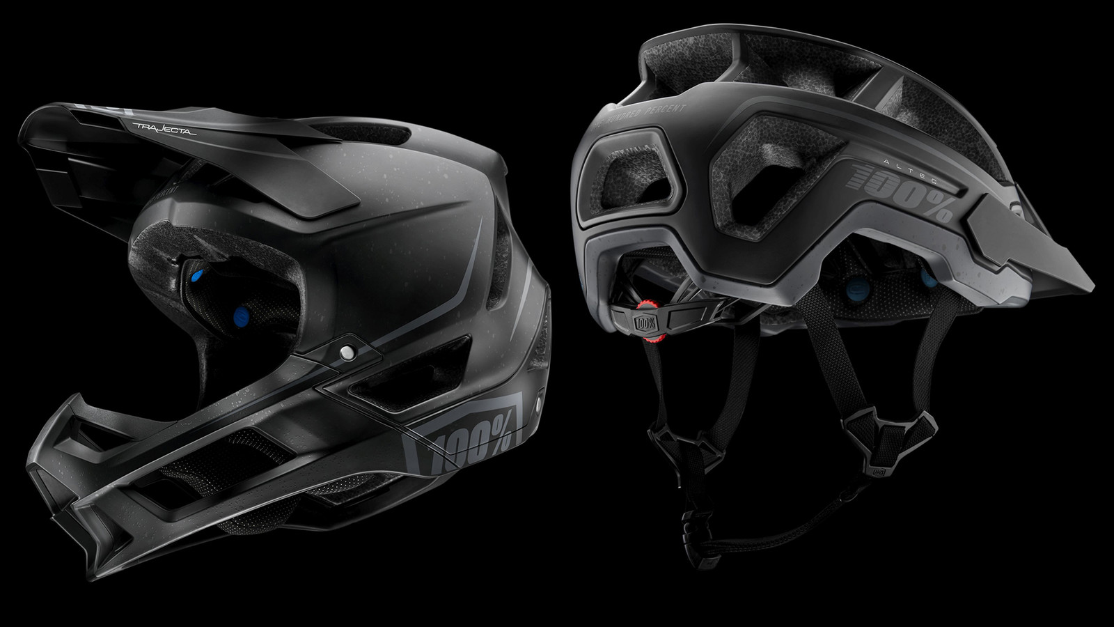 100% Introduces the ALTEC and TRAJECTA Helmets