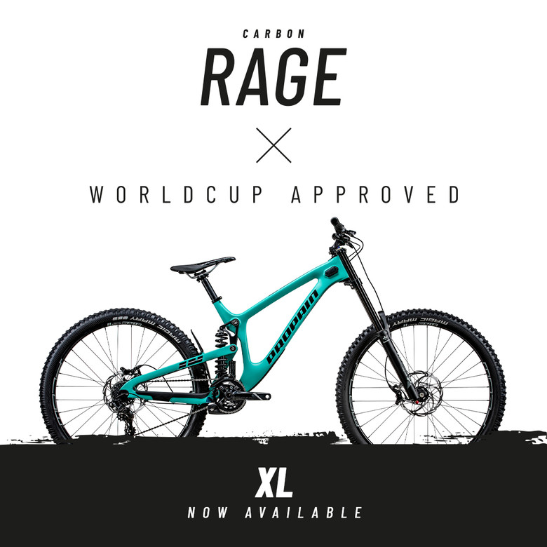 Big news rolling in from Propain bikes - RAGE XL