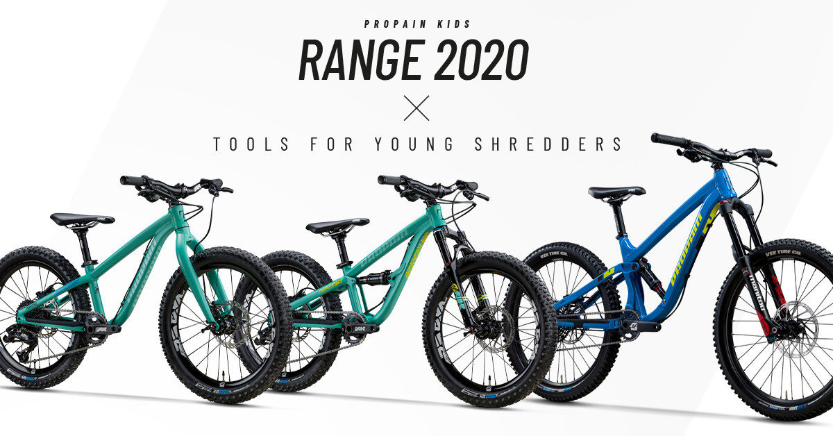 Propain's 2020 Kid's Mountain Bikes for Young Shredders