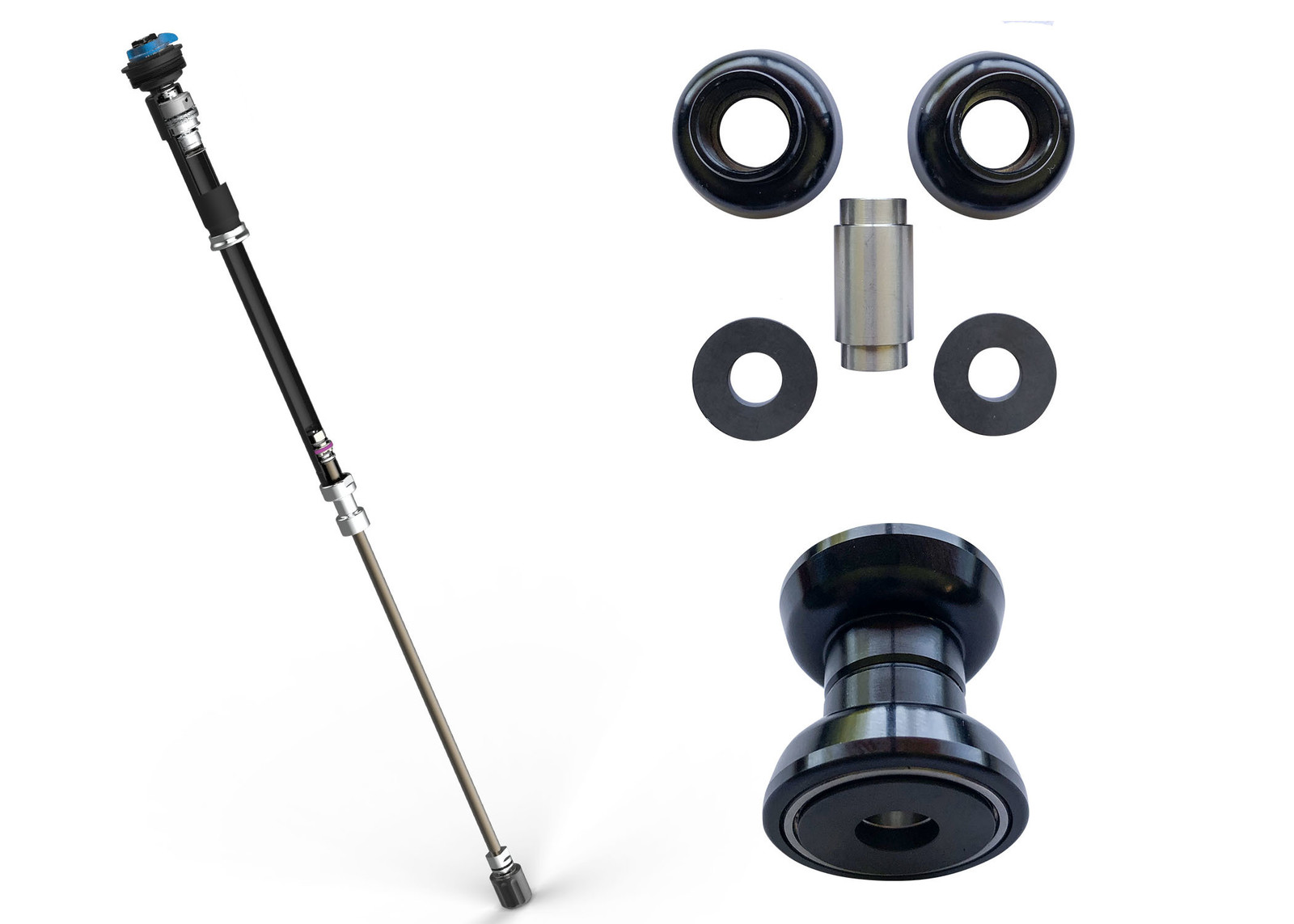 FOX Releases Updated FIT4 Damper and New Bearing Shock Hardware