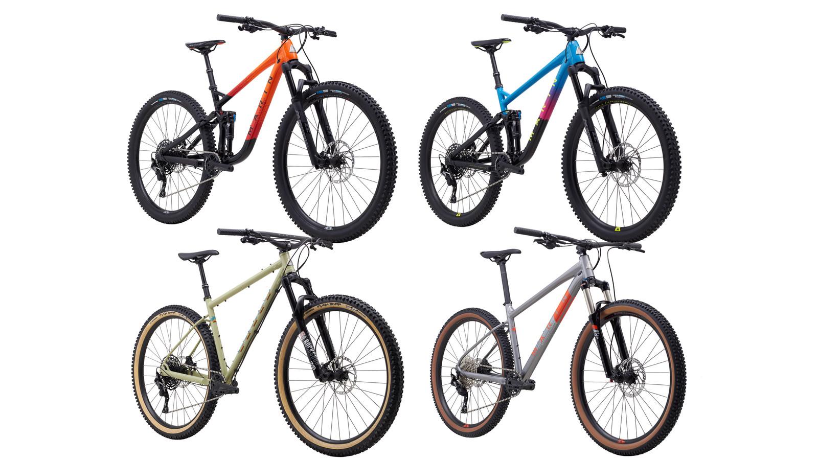 New 2020 Mountain Bikes from Marin
