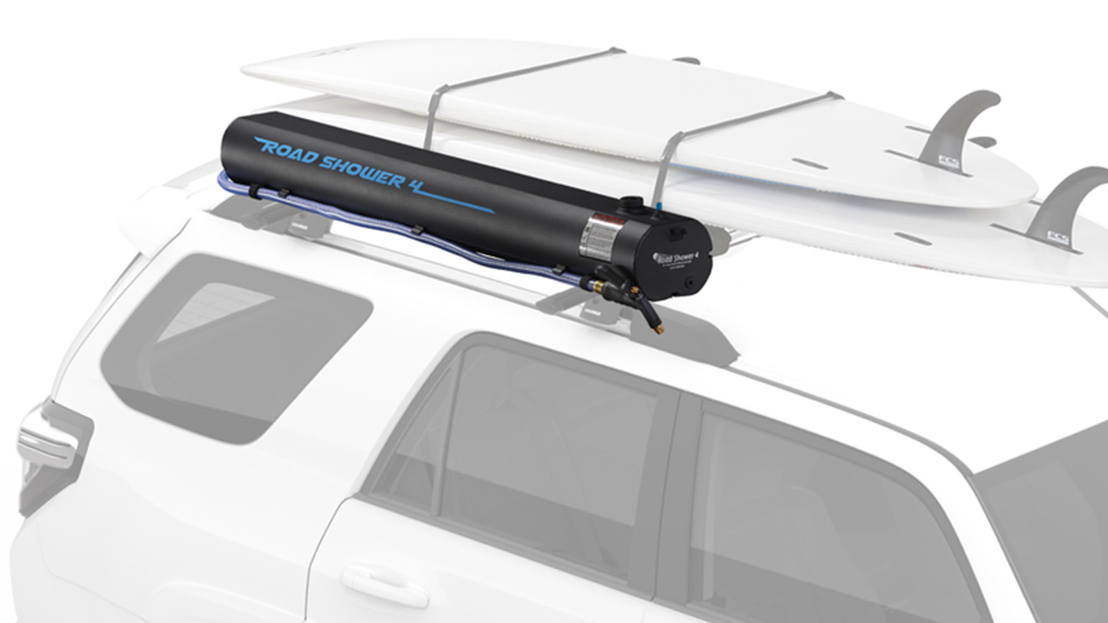 Yakima Acquires Road Shower, the Rooftop Water Tank System