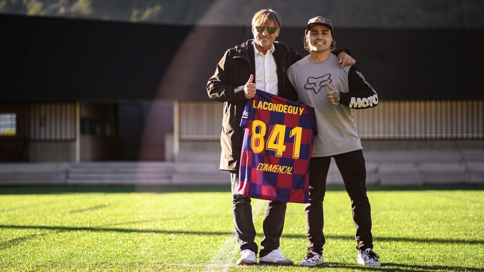 COMMENCAL Football Club Signs Andreu Lacondeguy