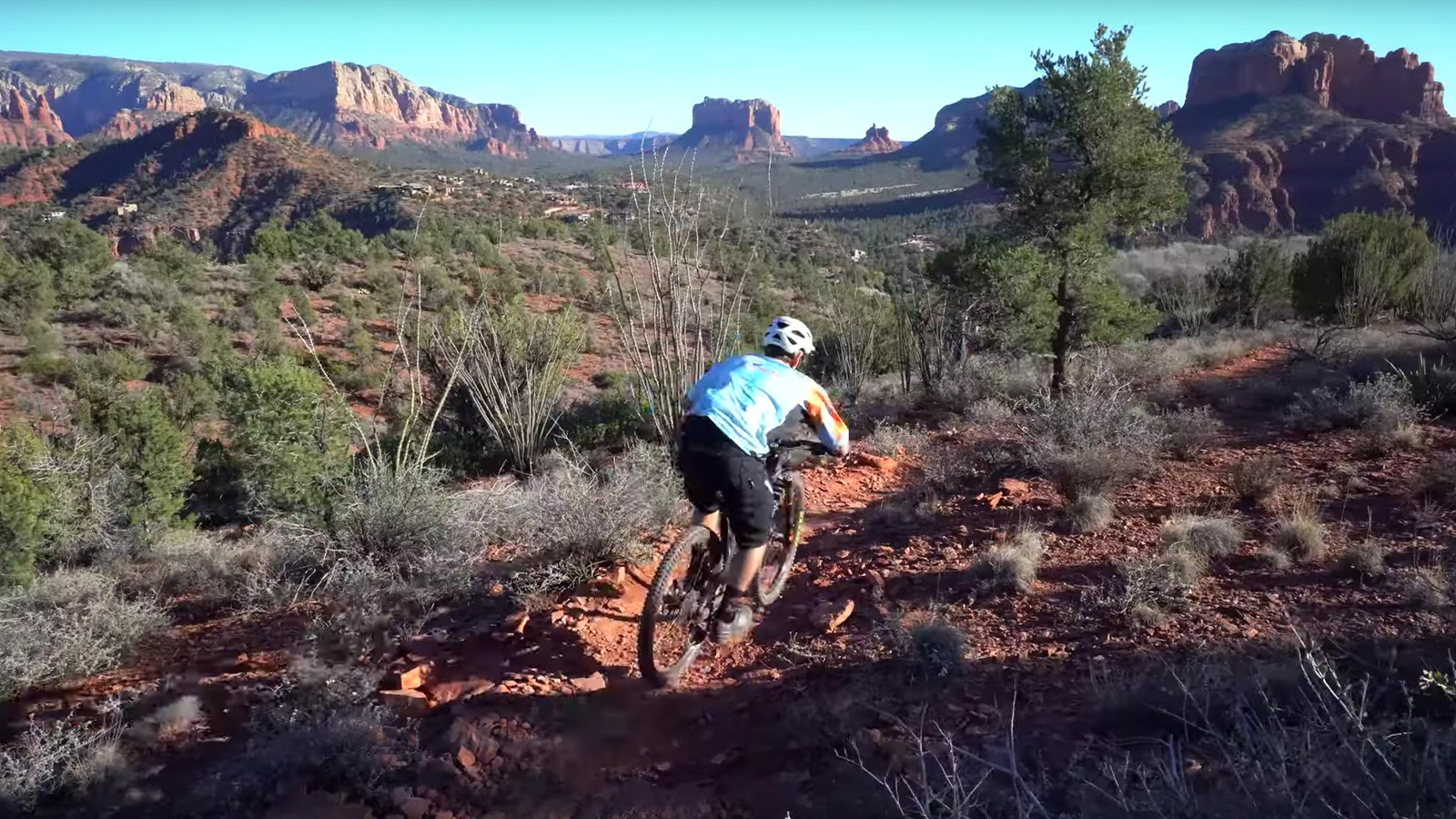 Enter Vital's Contest to Shred the Fast and Beautiful Ridge Trail in Sedona, AZ