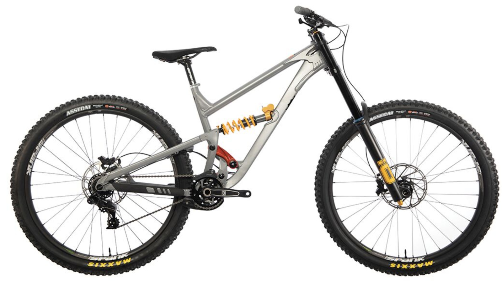 Here it is, Canfield Bikes' All-New ONE.2 Downhill Bike