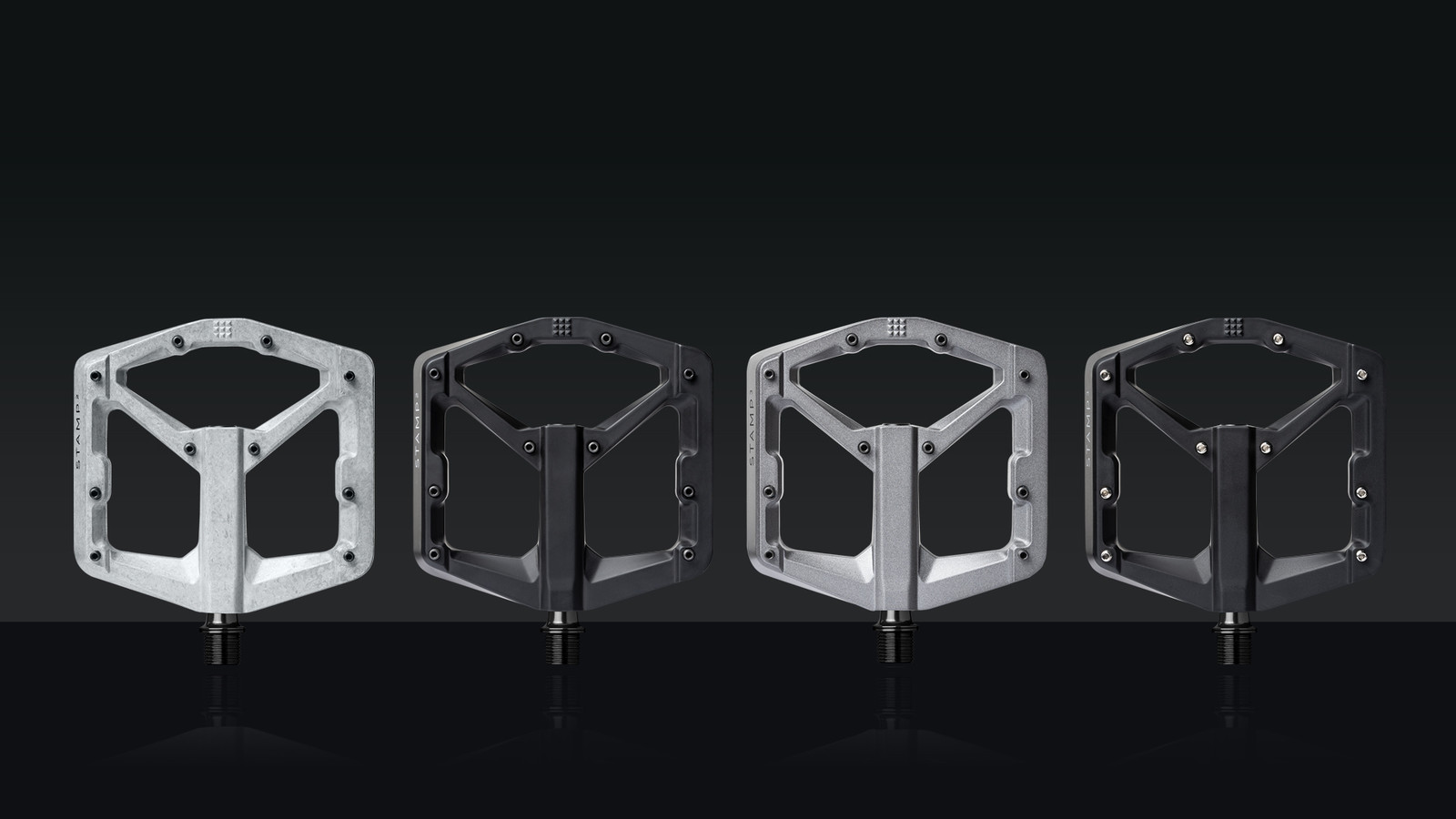 Crankbrothers Releases New Stamp 2 and 3 Flat Pedals
