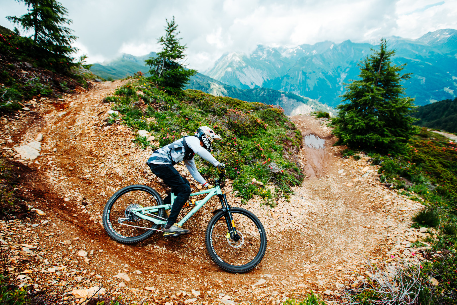 Gabriel Wibmer Rides in Style on his Local Trails to Launch AMS Ambassador Role