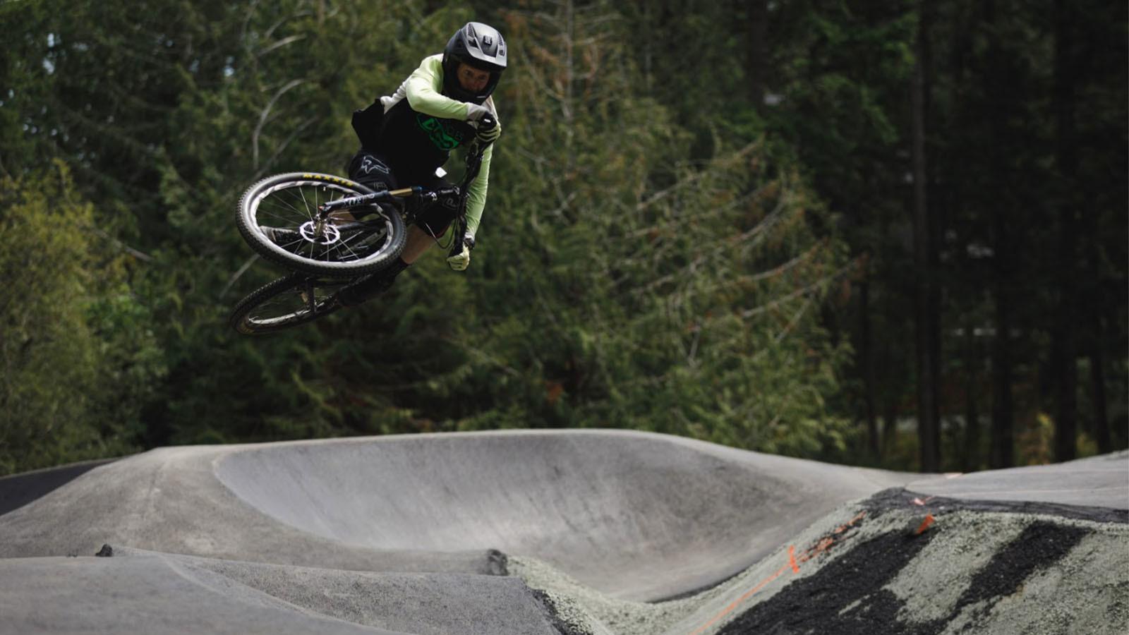 Jordie Lunn Bike Park's Massive Pumptrack