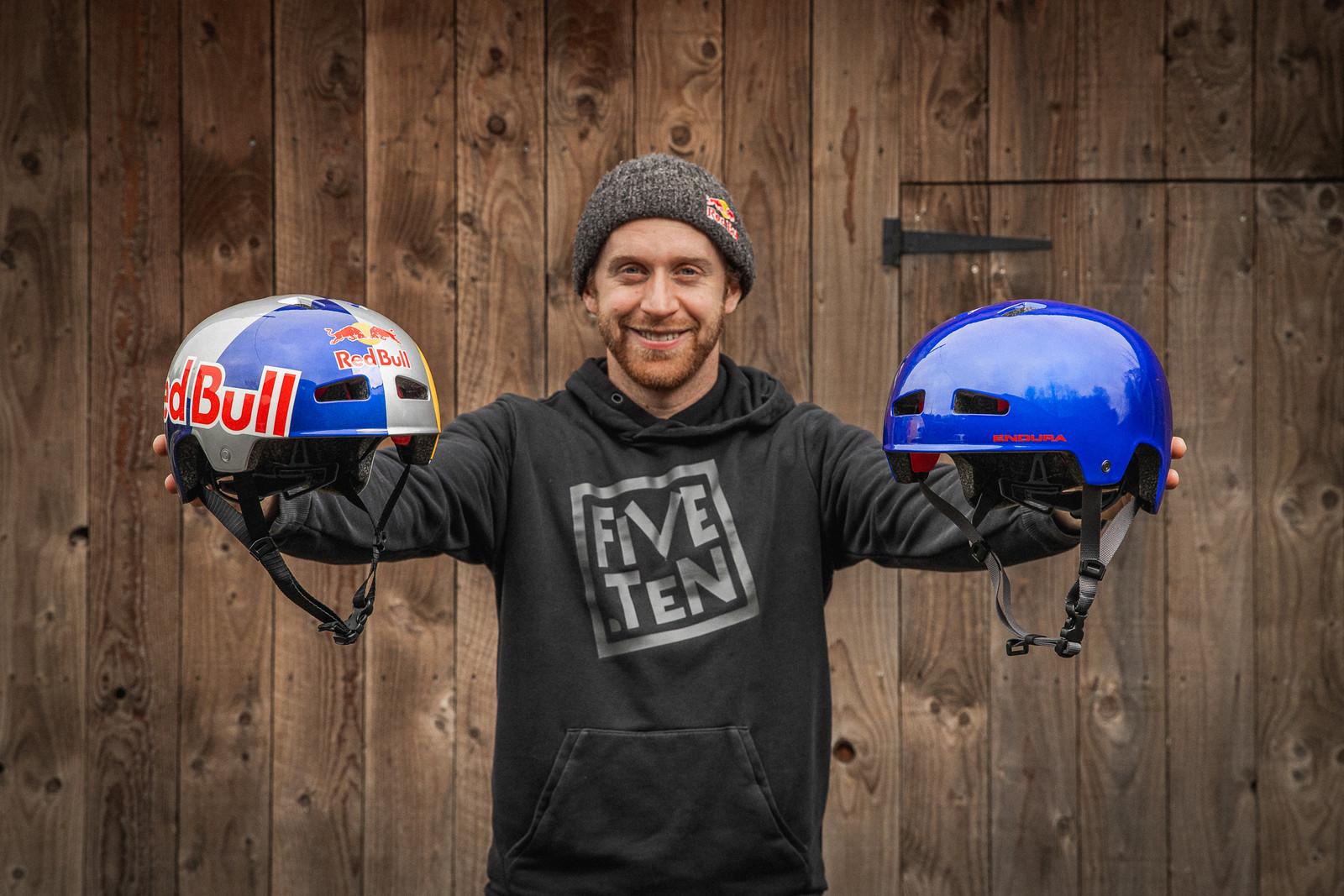 Meet Danny MacAskill's Signature Helmet, Courtesy of Endura